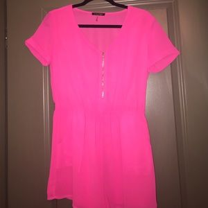 Other - Pink Romper SZ S