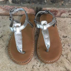 Silver GAP sandals