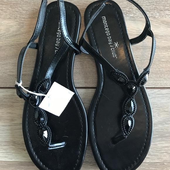 7f58cd91770 Montego Bay Club Black sandals
