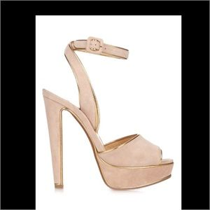 Christian Louboutin Shoes - Pre-Order Christian Louboutin Nude Suede  140mm