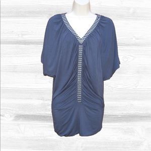 Kenar Tops - 🆕 Kenar Jersey Knit Ruched Top