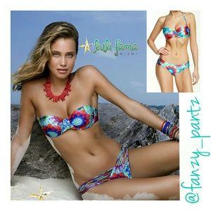 Luli Fama Other - 🌴 NWOT Luli Fama Beach Fever push up  bikini top