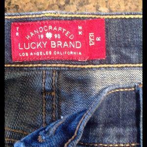 Lucky Brand sweet'n straight women's jeans