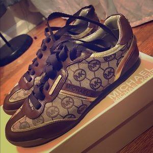 Michael Kors Monogramed Sneakers