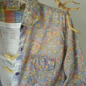 Art and Soul Tops - Art and Soul Painters Button-down Top