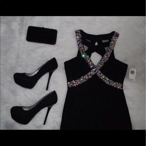 Crystal Doll Dresses & Skirts - Rhinestone Cocktail Dress (105)