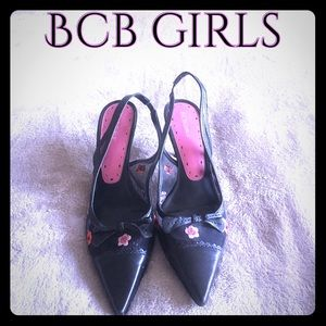 BCBGirls Shoes - BCB GIRLS sling back pointy toed heels