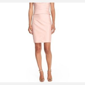 Monique Lhuillier Dresses & Skirts - Monique Lhuilier taffeta pencil skirt