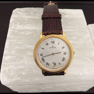 EDOX Other - EDOX vintage man's watch