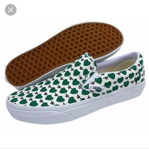 J. Crew Shoes - Unisex Vans for Jcrew honeybee print slip on shoes