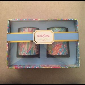 NWT Lilly Pulitzer Votive Candles