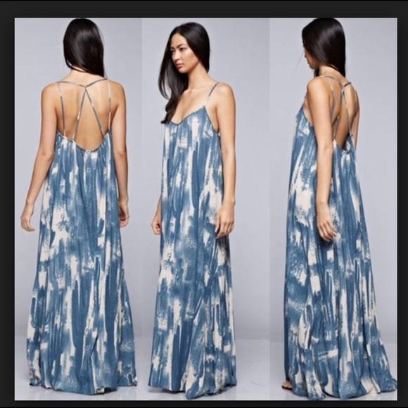 94a37dbf6e Love Stitch Dresses & Skirts - Love Stitch - Desert Cactus Maxi Dress