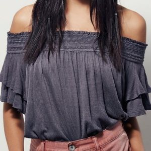 Free People Santorini Off-the-Shoulder Top