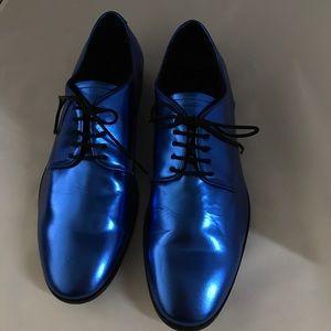 Lanvin for H&M Other - Men's dress shoes Lanvin H&M blue size 8 metallic