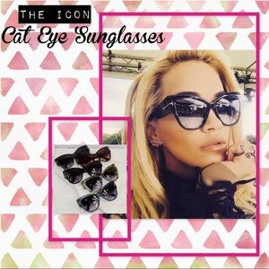 The Icon Cat Eye Sunglasses - 5 Colors!