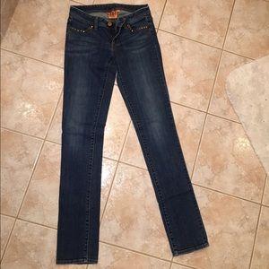 Tori Burch size 25 skinny jeans