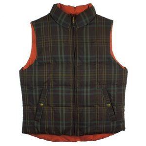 Ralph Lauren Jackets & Blazers - RALPH LAUREN Plaid Reversible Down Puffer Vest