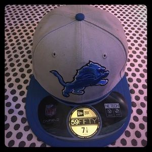 New Era Other - 🎆SALE🎆 Fitted Detroit Lions Hat