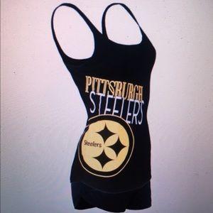 Other - Pittsburgh Steelers Ladies 2pc Sleep Set- NFL Lic