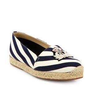 Christian Louboutin Shoes - Christian Louboutin Galia Canvas Espadrille Flats