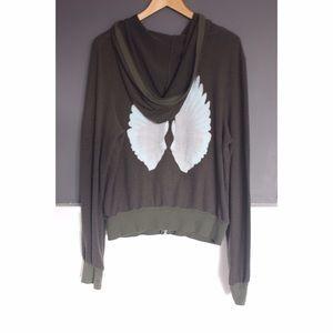 Wildfox Tops - WILDFOX wings hoodie