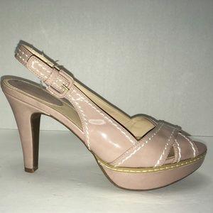 Studio Paolo Shoes - Studio Paola Platform sling back pumps. Size 9.5