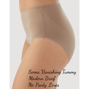 Soma Other - Soma Vanishing Tummy Modern Brief No Panty Lines