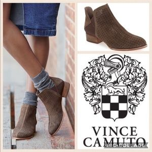 Vince Camuto Celena Bootie/Forest Gry/sz 8.5