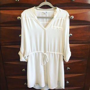 Naked Zebra Dresses & Skirts - Naked Zebra all white dress!