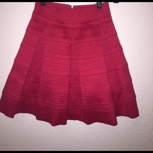 aina be Dresses & Skirts - Red A line mini skirt