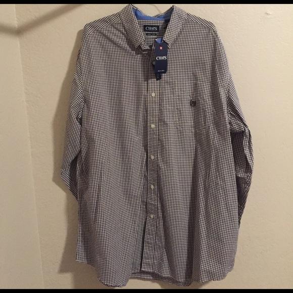 58 off chaps other men 39 s 2xlt chaps button down shirt for Chaps button down shirts