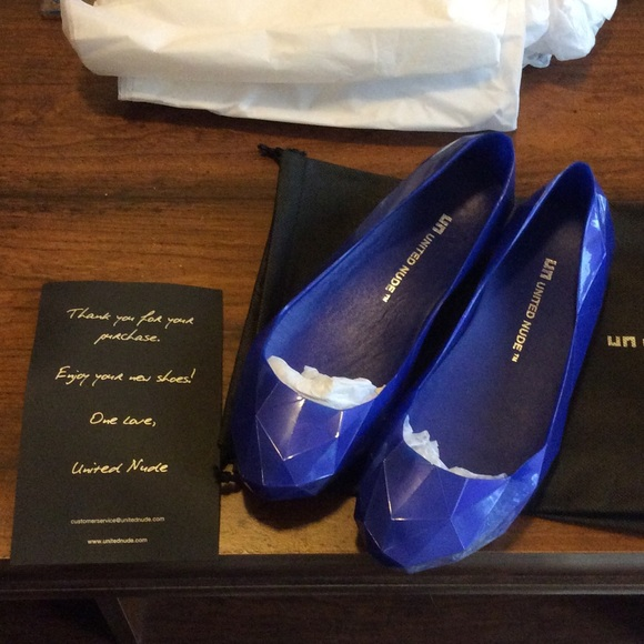 United Nude Shoes - United Nude Violet Pearl Lo Res Flats