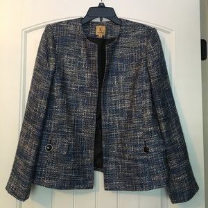 Kasper Jackets & Blazers - Kasper Open Front Jacket