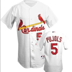 Majestic Other - ALBERT PUJOLS CARDINALS JERSEY SZ 50 WITH TAGS