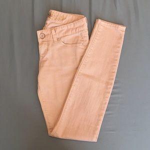 EXPRESS Pink Jean Legging - Size 0