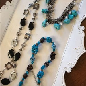 Jewelry - 6 necklaces, 4 earrings!