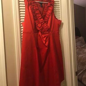 Lane Bryant ruffle dress