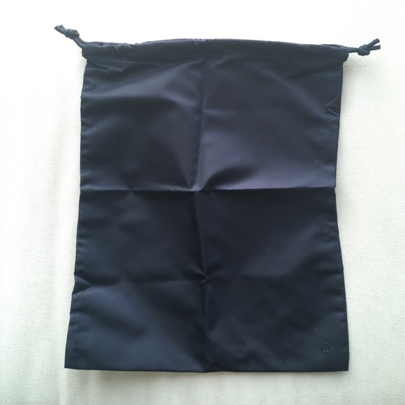 lululemon athletica - Lululemon drawstring bag navy blue logo NEW ...