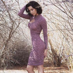 Dresses & Skirts - Long Sleeve Sweater Midi Dress