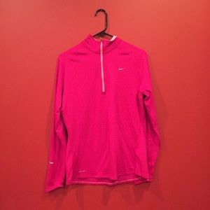 Nike Drifit Quarter Zip Up Long Sleeve