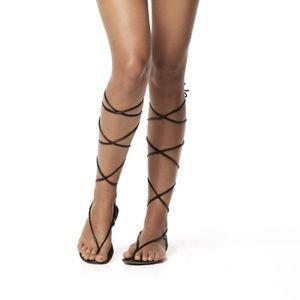 PilyQ Shoes - PilyQ Gladiator Sandals