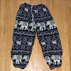 Pants - Bohemian Style Elephant Pants