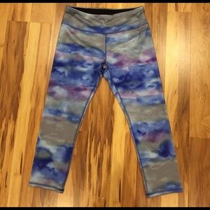 RBX Pants - Multicolor tie dye workout pants