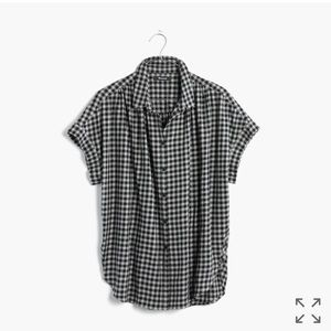 Madewell Tops - Madewell Central Shirt in Gingham Check