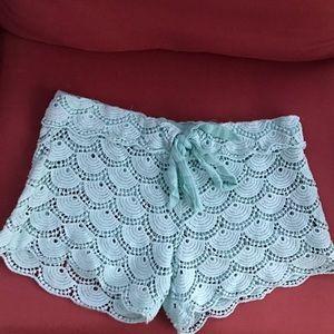 Mud Pie Pants - Crocheted Beach Shorts 🌊