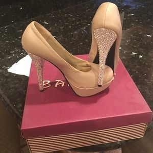 Bamboo Shoes - High heels with Swarovski crystals
