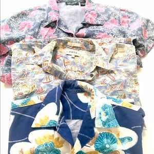 Vintage Hawaiian shirts from the 80's