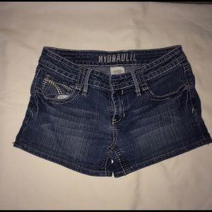 Hydraulic Pants - Hydraulic jean shorts