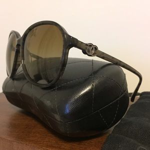 Original Chanel Polarized Sunglasses