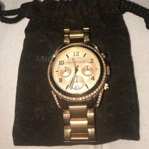 Michael Kors Watch: Ritz Rose Gold-Tone Watch